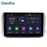 Wholesale car android navigator bluetooth resale online - Dasaita quot Multimedia Player Android Car Bluetooth GPS Navigator Autoradio din Navi for Peugeot