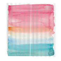 Wholesale bedroom oil paintings resale online - Original Oil Painting Rainbow Color Shower Curtains For Living room bedroom windwo curtains Home Decor