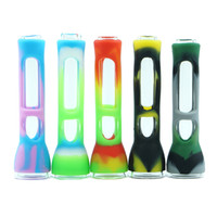 tabacoo трубы оптовых-color printing smoking pipe tabacoo Hand Pipe heat Hookah glass Bongs heat pipe wax oil rig