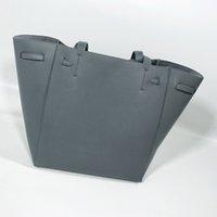 bolso fantasma al por mayor-Diseño de lujo bolsos monederos mujeres del envío gran bolsa de asas manera del cuero genuino bolsos de alta calidad con cordón bolsos FANTASMA