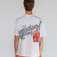 Wholesale white summer gloves for sale - Group buy 2019 Men Gloves Printed Short Sleeve T Shirts Streetwear Summer Harajuku Hip Hop Casual Tshirts Male Fashion Tops Tees