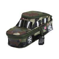 suv tanque al por mayor-Tank SUV Fighter Canvas Organizador de almacenamiento de la caja de lápices Estuche de lápices Bolso Bolsos