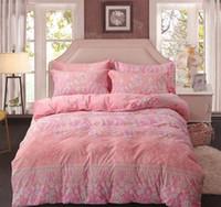 edredones de lino de algodón de lujo al por mayor-sábanas de seda ropa de cama de lujo situado colchas de algodón cubierta de matrimonio Doona del edredón ropa de cama de matrimonio king diseñador bedsheet