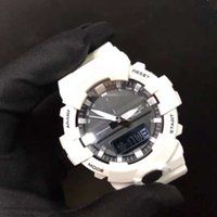 Wholesale military style gifts resale online - Fashion Mens Watches Leisure Shock Style Waterproof Stoptime Mens Gift LED Digital Clock Men s Quartz Analog Watches Military Analog