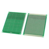 prototyp leiterplatten leiterplatten groihandel-Multi Größe DIY Prototyp Papier Einseitig PCB Universal Leiterplatte 1,6mm 2,54mm Glasfaser