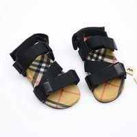 ingrosso alti ragazzo-Designer Estate vintage Scarpe da bambino Sandali da ragazzo Bambina Alta qualità Sneakers bambina Scarpe da spiaggia per bambini Vendita