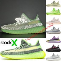 Wholesale angel shoes resale online - Big Size With Box Stock X Static Reflective Zebra Mens Designer Sneakers Angel Beige Women Sports Trainers Running Shoes