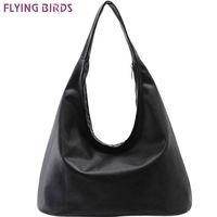 oiseaux volants achat en gros de-FLYING BIRDS 2016 femmes sac à main Hobos femmes sacs fourre-tout sac à main des femmes pochette Bolsa Feminina sac à bandoulière femme sac LS8508fb # 140589
