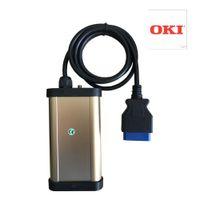 диагностический инструмент pro оптовых-ПРОДАЖА! чип Oki включает VD ТКС CDP PRO с Bluetooth для автомобиля грузовик OBD OBD2 автоматического детектора диагностики использовать стабильный свободный корабль
