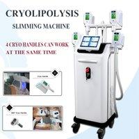 coole lipolyse-maschine großhandel-5 Griffe Cryolipolysis Fat Freeze Maschine Zeltiq Lipolysis Cool Body Shaping 5 Kryogriffe Salon-Gebrauch-Kryo, der Ausrüstung abnimmt