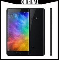 xiaomi dört çekirdeği toptan satış-Küresel Sürüm Orijinal Xiaomi Mi Not 2 64-Bit Dört Çekirdekli 4G LTE Dokunmatik KIMLIĞI 22MP Kamera RAM 6 GB ROM 128 GB 5.7 inç Kavisli Ekran 1080 P FHD