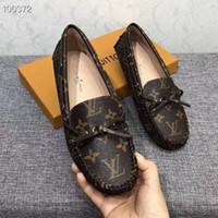 arbeit müßiggänger großhandel-Frauen Müßiggänger und Wohnungen New Fashion Women Casual Schuhe bequeme Arbeitsschuhe Marke Frau Freizeit Driving Schuhe Großhandel