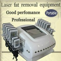 Wholesale dual laser diode resale online - Professional Laser Pads Dual Wavelength Smart Lipo Laser Machine Weight Loss Diode Lipo Laser Lipolysis Slimming Machine