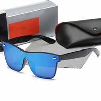 gläser da sonne großhandel-New 2019 Top Qualität Ray 2140 Bans Aviator Sonnenbrille Vintage Pilot Sonnenbrille Polarisierte UV400 Männer Frauen Ben occhiali da sole Mit Fall