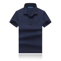 Wholesale polo blue sale resale online - 19SS This Summer The Latest Fashion Cotton Lapel Designer Polo Shirt Men s Multi color Multi size Hot Sale Designer T shirt Size M xxl