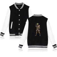 spielen sweatshirt großhandel-XXS-4XL Apex Legends Baseballjacke Lässige Harajuku Sweatshirt Outwear Berühmte Eat Chicken Game und Bloodhound spielen gedruckte Streetwear Tops