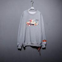 fruchtdruck männer großhandel-19FW Heron Preston Hoodies Männer Frauen Streetwear Hip Hop Obst Print Sweatshirt Männer Fashion Heron Preston DSNY Weiß Hoodie