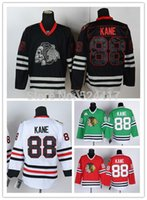 ingrosso porcellana di blackhawks-Nuovo! # 88 Patrick Kane Jersey Chicago Blackhawks Maglie Hockey su ghiaccio Jersey Maglie Hockey su ghiaccio cucite Cina