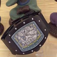 ingrosso testa in ottone-2019 nuovi orologi orologio da uomo in silicone bianco vuoto cinturino in silicone per orologi