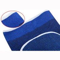 meias de joelho cinza venda por atacado-Meias de compressão Joelho Brace Suporte Pad Guarda Artrite Dor Ginásio Esportes Proteger (Cinza)