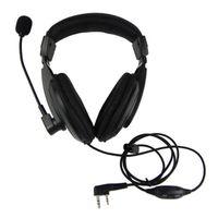 Wholesale kenwood puxing wouxun earpiece resale online - VOX Headset Earpiece For KENWOOD WOUXUN QANSHENG PUXING BFUV5R H555 TYT Ham Radio Walkie Talkie C0134A Fshow