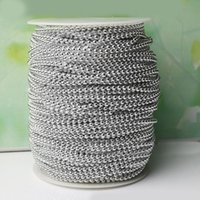Wholesale crystal chains garland resale online - 10 Meters mm pearl Beads cotton Line Chain pearls Garland Wedding Party Decoration party Supplies Bride Bouquet accessories