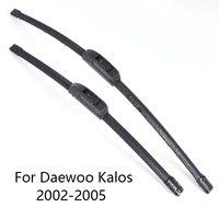 borracha para windscreen venda por atacado-Pára-brisas de carro Wiper Blades para Daewoo Kalos forma 2002 2003 Car Limpa Rubber