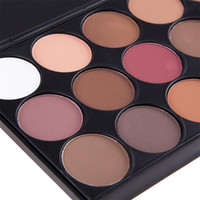 Wholesale multi color eyeshadow set for sale - Group buy Hot sale Newest color eyeshadow with eye shadow brush the earth smoky palette pearl light makeup tray set foreign trade top seller