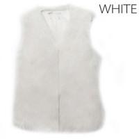 меховые жилеты для женщин оптовых-Autumn Winter Women Fur Vest Warm Faux  Short Jacket Vests Furs Coats Lady Casual Gilet Outwear S-3XL QL Sale
