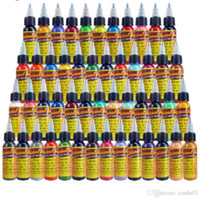 Tattoo ink 50 Colors 1oz  Bottle 30ml creamsicle color Tattoo Pigment tattoo inks free shipping