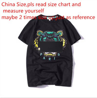 Wholesale clothing for men women online - 2018 Summer Designer T Shirts For Men Tops Tiger Head Letter Embroidery T Shirt Mens Clothing Brand Short Sleeve Tshirt Women Tops S XL