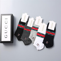 Wholesale boys athletic socks resale online - Classic Red Green Stripe Men Sock Slippers Summer Outdoor Invisible Breathable Teenagers Socks Personality Design Brand Boys Sports Hosiery