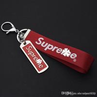 erkekler için anahtarlık aksesuarları toptan satış-Anahtarlık Anahtarlık Araba Telefonu Çanta Charm Anahtarlık kişiselleştirmek anahtarlık tutucu erkek kadın hediye araba kolye Moda Aksesuarları