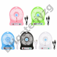 Fans Usb Charging Fan Home Mini Office Handheld Rabbit Fans With Desk Base Rechargeable Air Conditioner