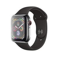 чехол для яблочных часов оптовых-Корпус Apple Watch 4 с комплектом в TPU Защитная пленка для экрана вокруг защитных чехлов HD Clear Ультратонкий чехол для Apple iwatch Series 4