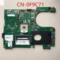 Wholesale intel hm77 motherboard for sale - High quality for N5720 motherboard CN F9C71 F9C71 DA0R09MB6H1 HM77 PGA989 DDR3 tested OK