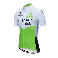 riesiges grünes trikot großhandel-Berühmte Team Radfahren Jersey Kurzarm Schnell Trocknend Fahrrad MTB Bike Tops Anti Pilling Grün Mesh Bike Jersey Für Männer Riesen Ropa Ciclismo
