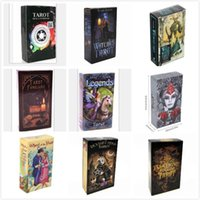 2020 17 Styles Tarots Witch Legends Smith Shadowscapes Wild Prisma Tarot Desktop Board Game Cards with Colorful Box English Version L455