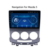 tour mp3 al por mayor-Super Slim de pantalla táctil Android 8.1 Radio de navegación GPS para 5 Premacy de radio estéreo Bluetooth Multimedia cabeza wifi unidad de DVD del coche