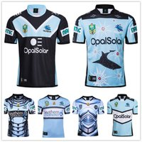 69ba2f7d7c1 New CRONULLA SHARKS Rugby Jersey Men Commemorative Edition NRL National  League rugby shirt Home Away jersey SUPER RUGBY League Size S-3XL