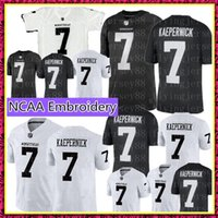 144aa85643b COLIN KAEPERNICK 7 IMWITHKAP JERSEY I M WITH KAP Mens Black White Double  Stiched Name And Number High Quanlity Football Jerseys