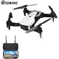 actualización de tiempo al por mayor-Eachine E511- Mejorado E58 WIFI FPV con cámara 1080P / 720P HD Modo sin cabeza 16Mins Tiempo de vuelo RC Drone Quadcopter plegable