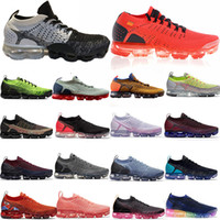 Wholesale knitting summer shoes for sale - Group buy 2019 Knit Fly Running Shoes BHM NOR White Blue Leopard Women Mens Designer Shoe Sneakers Trainers