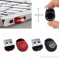 kalem sürücü markaları toptan satış-Gerçek Kapasite Gem Marka Tiny USB 2.0 Flaş Kalem Sürücü Memory Stick Araba U Disk