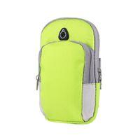 banda para correr iphone al por mayor-Cubierta de la caja de brazalete deportivo Correr Jogging Brazo bolsa bolsa bolsa para 4-6 pulgadas Universal para iphone X XS Max teléfono inteligente 300PCS / LOT