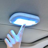 telhado de domo venda por atacado-Branco LED 5V Car Vehicle Dome Telhado Interior Do Teto de Leitura Tronco Lâmpada Lâmpada
