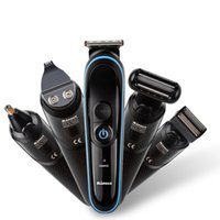 Wholesale waterproof nose ear hair trimmer for sale - Group buy 5 in Electric Shaver Hair Clipper New Cutter Nose Ear Trimmer Men Waterproof USB Rechargeable Portable Hair Clipper Kit