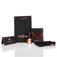 nagellack set groihandel-Gelike Glitter Gel Polish 15ml Nail Art Kit Diamanten Tränken Sie das Platinum Nail Set