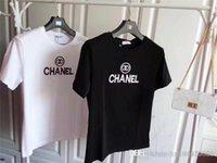 ingrosso nuove collezioni top-2019 nuova collezione gardon Estate foto ragazza stampa lettera uomo T-shirt Run Tees cotone donna Casual Top shirt