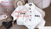 weiße lose erntegutspitzen großhandel-Nibber Office Lady Weiß Baumwolle Crop Top Frauen 2019 Sommer Casual Street T-Shirt Mujer Fashion Loose Basic T-Shirt